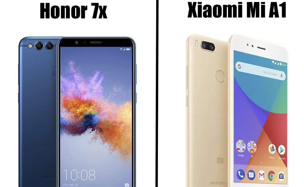 Honor 7X VS Xiaomi Mi A1- Which Is Better And Why